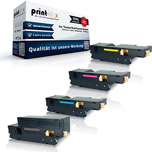 Preisvergleich Produktbild kompatibles Toner Sparset für Epson Aculaser C1700 C1750N C1750W CX17 CX17NF CX17WF C13S050614 C13S050613 C13S050612 C13S050611 ( alle 4 Farben )