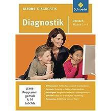 Alfons Diagnostikprogramme - Ausgabe 2011: Diagnostik Deutsch 1 - 4