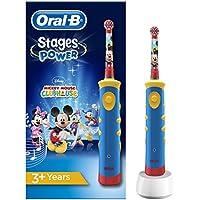 Oral-B Kids Elektrische Kinderzahnbürste, für Kinder ab 3 Jahren, im Mickey Mouse Design
