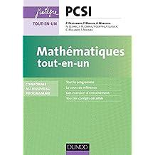 Mathématiques tout-en-un PCSI-PTSI : nouveau programme 2013 (Concours Ecoles d'ingénieurs)