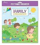 2017famille Organisateur Calendrier Planning de Noël cadeau d'anniversaire enfants Home Sweet Home Children...