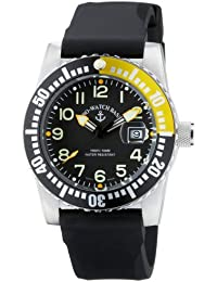 Zeno Watch Basel Airplane Diver Quartz 6349-515/YL - Reloj de caballero de
