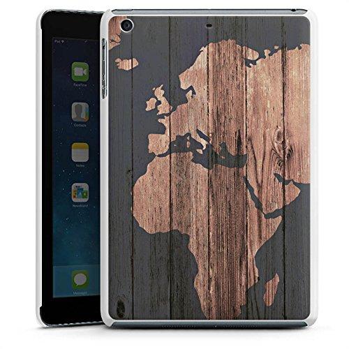 apple-ipad-mini-3-hulle-schutz-hard-case-cover-weltkarte-holz-erde