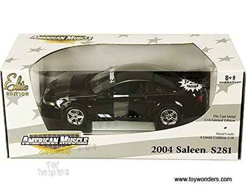 2004 Saleen Ford Mustang S281 1/18 L/E Black