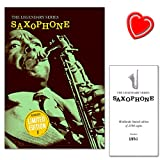 Legendary Series Saxophone - luxurious, limited edition book; 100 expertly arranged pieces for Saxophone; legendary classical themes, jazz standards, show-tunes and timeless popsongs + Notenklammer