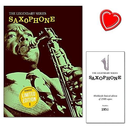 Legendary Series Saxophones–Luxurious, édition limitée Book–100expertly Arranged Pieces For Saxophones–Legendary
