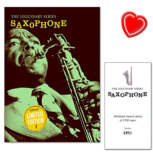 Legendary Series SaxophonesLuxurious, dition limite Book100expertly Arranged Pieces For SaxophonesLegendary Classical Themes, Jazz Standards, Show Tunes and Timeless Pop Songsavec cur Note colore de pince