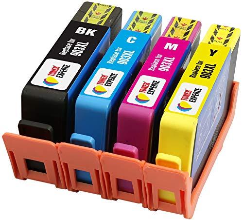 TONER EXPERTE 4 XL Cartucce d'inchiostro compatibili con HP 903XL 903 XL per Stampanti HP Officejet Pro 6950, 6960, 6970, 6975 | Alta Capacità