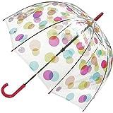 Fulton Ladies Spots Birdcage Dome Umbrella