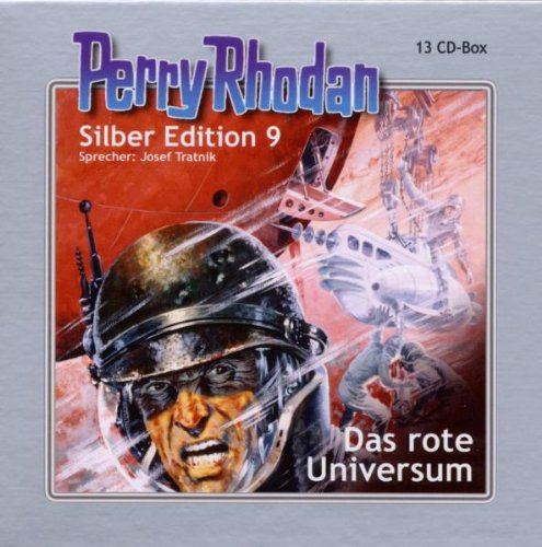 Perry Rhodan Silber Edition 9 das Rote Universum
