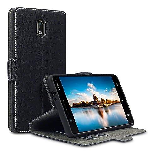 Coque Nokia C3 - Coque Cuir Nokia 3, Terrapin Étui Housse