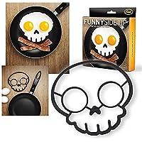 SMCTCRED 1PCS Skull Egg Shaper silicone Omelette strumenti di stampo di cottura gadget da cucina - Cane Pan