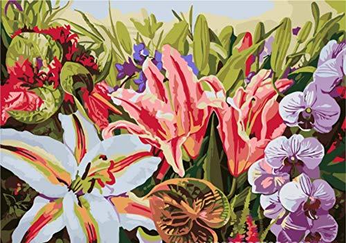 Diy digitale malerei schlafzimmer studie wohnzimmer dekoration malerei wandbild dekompression malerei