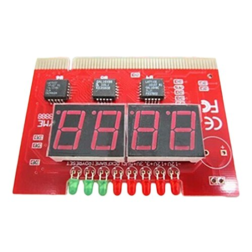 Cables Kart PC 4 Digit Diagnostic Analyzer Card Motherboard Tester - User Manual  available at amazon for Rs.299