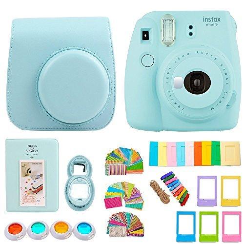 FujiFilm Instax Mini 9 Camera and Accessories Bundle - Instant Camera