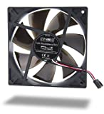 Noiseblocker BlackSilentPro PL-2 Ventilateur axial 120 x 120 x 125 mm