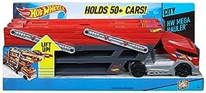 hot wheels mega hauler camion transporteur de voitures sur 6 niveaux jeux et jouets. Black Bedroom Furniture Sets. Home Design Ideas