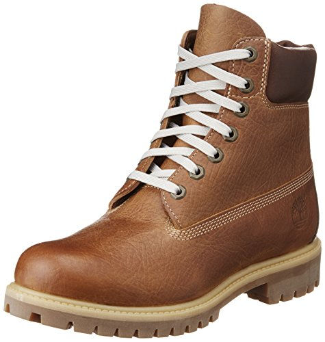 "Timberland 6"" Premium Boot 7LP Herren Stiefel (Brown) Braun"