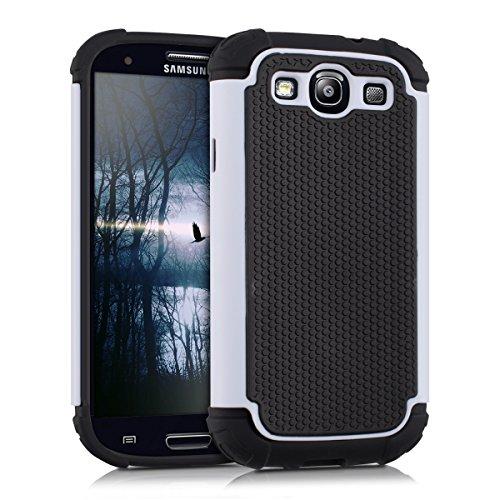 kwmobile Samsung Galaxy S3 / S3 Neo Cover Ibrida - Custodia Rigida Outdoor Dual Case TPU Silicone Back Case per Samsung Galaxy S3 / S3 Neo