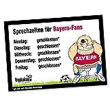 Büro-Abwehrschild Bayern | Schützt Den Arbeitsplatz von BVB 09-, FC Schalke 04- & Allen Fußball-Fans vor verirrten Bayern-Fans | Öffnungszeiten Sprechzeiten-, Eingangs- & Tür-Schild