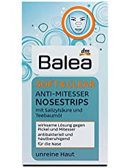 Balea Facestrips Soft & Clear Anti-Mitesser Nosestrips, 6 Stück