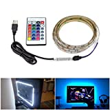 Remote Control USB LED Light Strip TV Background Ambient Lamp