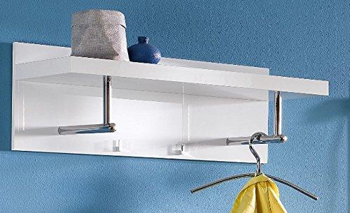 Elegance Garderoben-Paneel Space Wandregal Wand-Board Weiß Hochglanz NEU!
