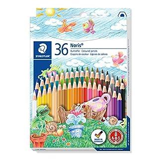 Staedtler- Noris Club Caja con 36 lápices de colores, Multicolor (144 ND36) (B003N7NKG8) | Amazon price tracker / tracking, Amazon price history charts, Amazon price watches, Amazon price drop alerts