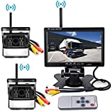 Best PUMPKIN Rearview Cameras - Wireless Backup Camera Vehicle 2 x Parking System Review