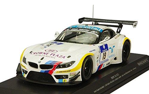 """Preisvergleich Produktbild Minichamps Maßstab 1: 18""""2012BMW Z4GT3Team Schubert ADAC 24h Nürburgring"""" Auto (weiß)"""