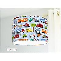 Lampenschirm - Autos - 35cm - Viele verschiedene Farben möglich