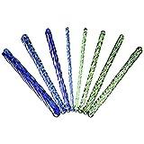 Greenpinecone® 8 Stück Andere Größe Glaskristall Penisstab Urethral Dilatator Prinzenzepter Bondage BDSM CBT SM