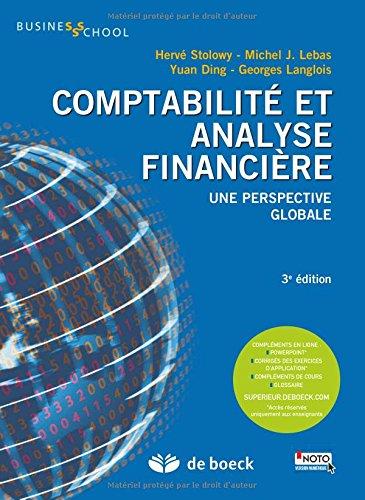 Comptabilité et analyse financière - Une perspective globale