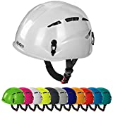 Casque d'escalade et d'alpinisme universel ARGALI via ferrata en beaucoup couleurs modernes de Alpidex, Couleur:bright white...
