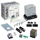 FAAC Delta 2Kit Safe 1056303445Kit pour automatisation de portail coulissant, 500kg, 230V