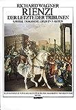 Cover of: Rienzi, der Letzte der Tribunen: Große tragische Oper in fünf Akten. WWV 49. Klavierauszug. |
