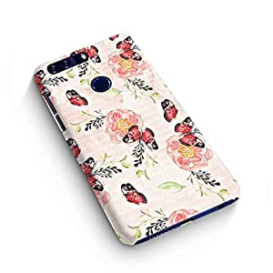 Cover Affair Floral / Flowers Printed Designer Slim Light Weight Back Cover Case for Huawei Honor 8
