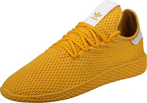 adidas PW Tennis HU, Scarpe da Fitness Unisex-Adulto Oro/bianco (Doruni/Doruni/Ftwbla)