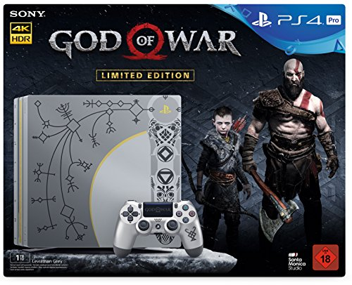 PlayStation 4 1TB PRO Limited Edition + God of War Day 1 Edition
