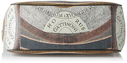 Gattinoni Gplb025, Borsa a Tracolla Donna, 13 x 30 x 32 cm (W x H x L) Verde (Balsam)