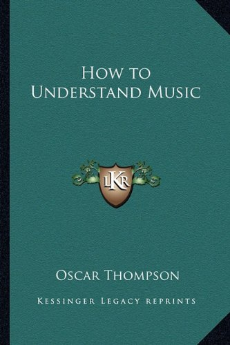 How to Understand Music