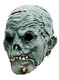 Zombie Maske des Grauens zum Zombiekostüm Halloween Zombiemaske