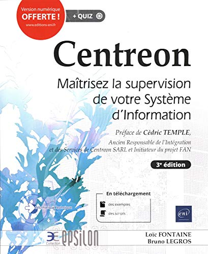 Centreon - Maîtrisez la supervision de votre Système d'Information (3e édition)