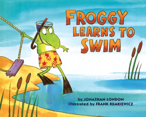 Froggy Learns to Swim (English Edition)