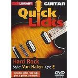 Guitar Quick Licks - Van Halen Hard Rock