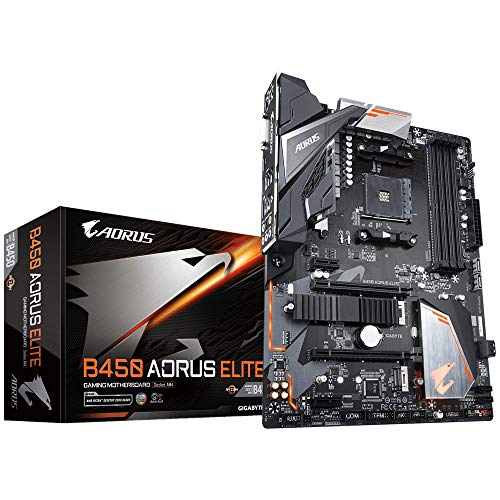 Gigabyte B450 Aorus Elite Carte mère Intel AMD B450 Socket AM4