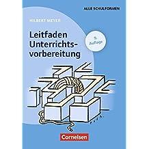 Praxisbuch Meyer: Leitfaden Unterrichtsvorbereitung: Buch