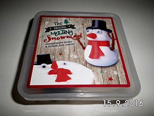 41619Merry Christmas Melting Schneemann Spielzeug ()