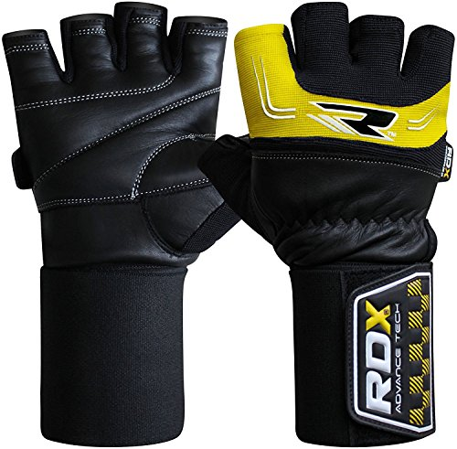 RDX-Mens-Gym-Weight-Lifting-Gloves-35-Strap-Cross-Training-Bodybuilding-Fitness-Workout