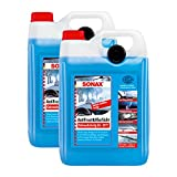 SONAX 2X 03325000 AntiFrost&KlarSicht gebrauchsfertig bis -20°C Frostschutz 5L